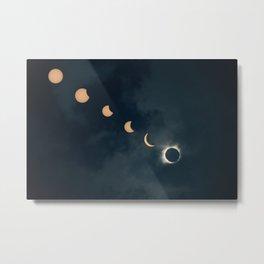 Great American Eclipse Metal Print