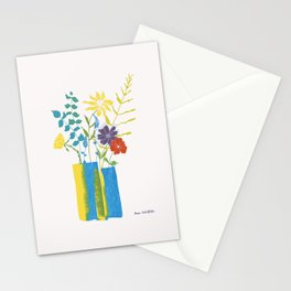 Spring floral bouquet Stationery Cards