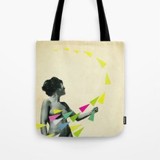She's a Whirlwind Tote Bag