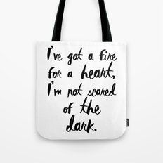 One Direction // Drag me down lyrics Tote Bag