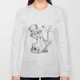 Mrs. Edgar Allan Poe Long Sleeve T-shirt