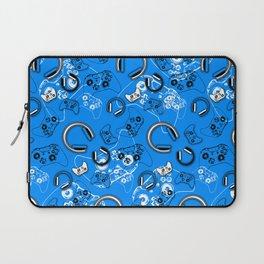 Gamers-Blue Laptop Sleeve