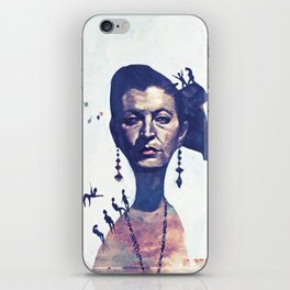 Lady Horizon iPhone Skin