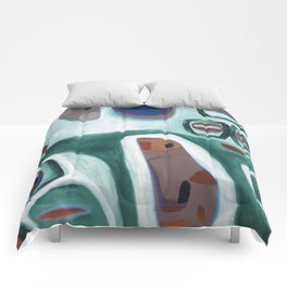 Rock Face Comforters