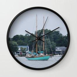 Martha White Sailboat Wall Clock