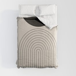Arch, geometric modern art Comforters