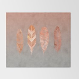 Feathers Throw Blanket