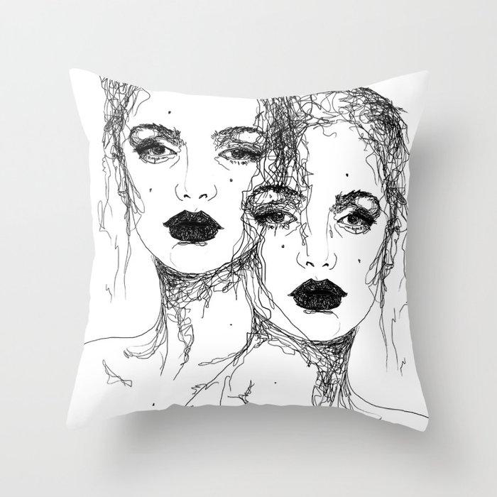 J A N E  &  J A N E Throw Pillow