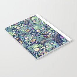 Zombie Repeatable Pattern Notebook