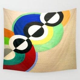 Robert Delaunay Rhythm Wall Tapestry