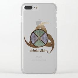Viking shields mythology I Clear iPhone Case