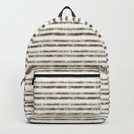 Scratched Retro Vintage Grunge style pattern Backpack