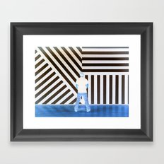The Ghost at the Museum Framed Art Print