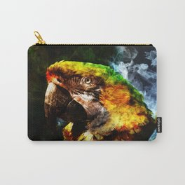Smokey Parrot Carry-All Pouch