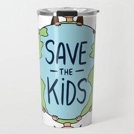 Save The Children Cartoon Travel Mug