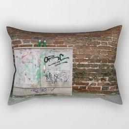 Two bottles Rectangular Pillow