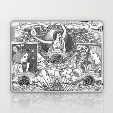Legend of Zelda - The Three Goddesses of Hyrule Geek Line Artly Laptop & iPad Skin