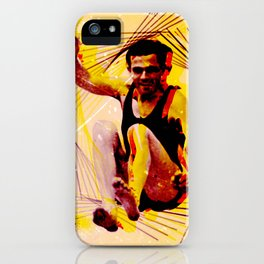 Jumping Jacks iPhone Case