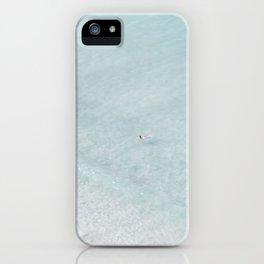 beach - the swimmer iPhone Case