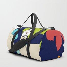 Alpaca Smile Duffle Bag
