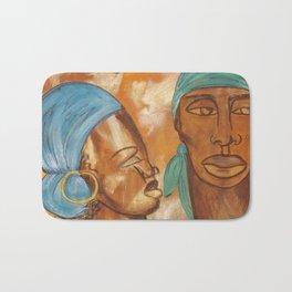 Etnik Drum in love vibes Bath Mat