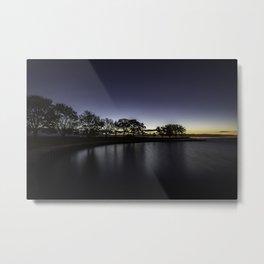 Lakeside at dawn Metal Print