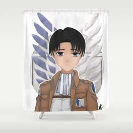 Levi Rivaille Shower Curtain