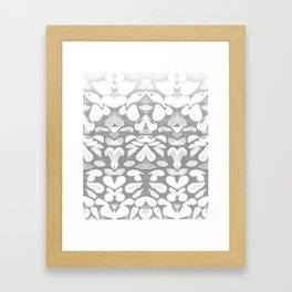 Winter has Come, Silver Romantic Nights Framed Art Print