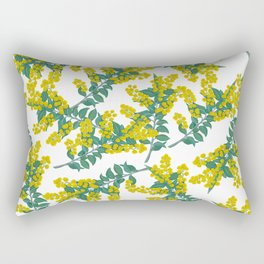 Australian Wattle Rectangular Pillow