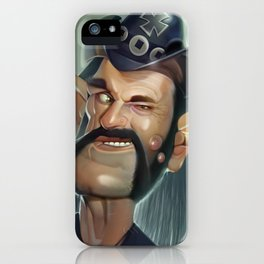 Lemmy hearing aid iPhone Case