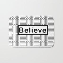 Believe Bath Mat