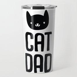 Cat Dad Travel Mug