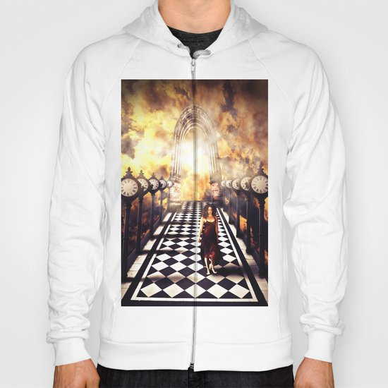 Walking through time Hoody
