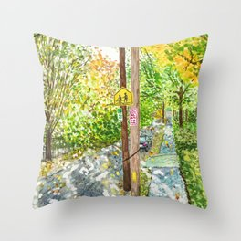 Brookline Sunshine Throw Pillow