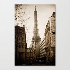 Le Tour Eiffel Canvas Print