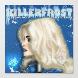 XSuperModels-CentralCity-Heros-Frost Canvas Print