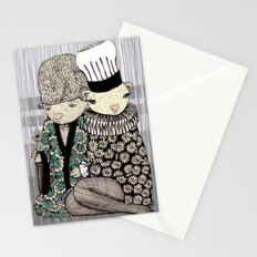 Happy when it rains Stationery Cards