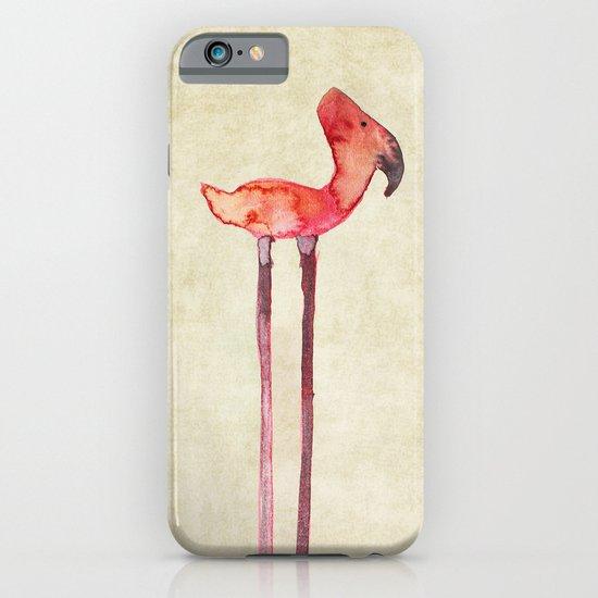 old transmogrified flamingo iPhone & iPod Case