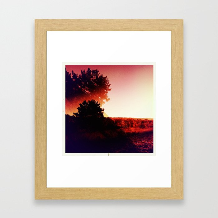 Earth Tilt Framed Art Print