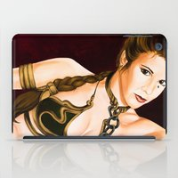 leia iPad Cases featuring Slave Leia  by Rexifist Art