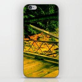 Autumn Bridge iPhone Skin