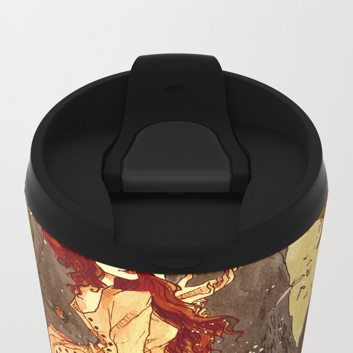 The Goblin Market Metal Travel Mug