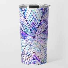 Flower Energy Bokeh Lights Travel Mug