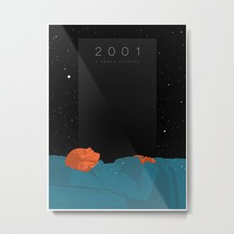 2001: A Space Odyssey  Metal Print