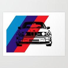 E30 M3 Art Print