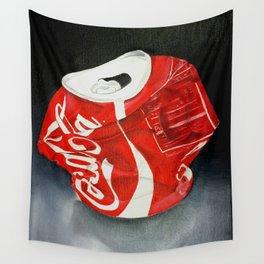 Coca-Cola Can Wall Tapestry