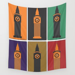 london eye Wall Tapestry
