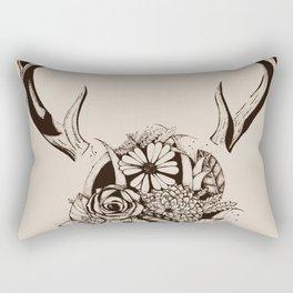 Antler Bouquet Tan Rectangular Pillow