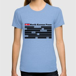 North Korea News Paper T-shirt