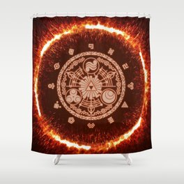 Zelda Historia Shower Curtain